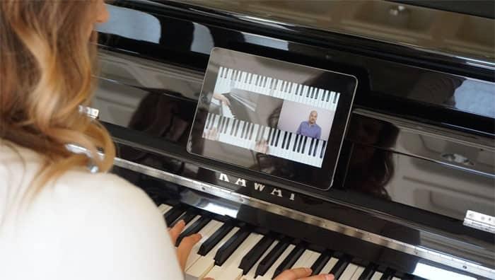 Online Klavier Spielen