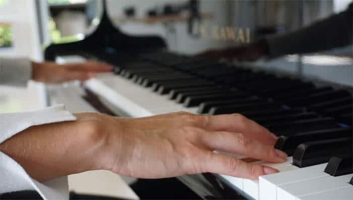 Piano spielen auf Zapiano