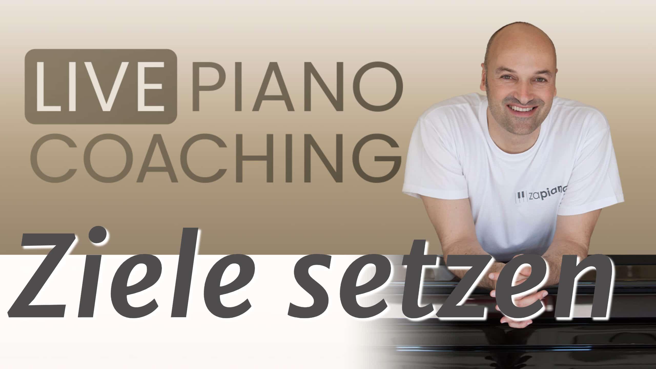 Schau dir unser Live Piano Coaching zum Thema Ziele setzen am Klavier an.