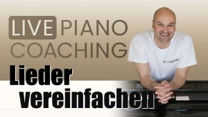 Klavierlieder vereinfachen